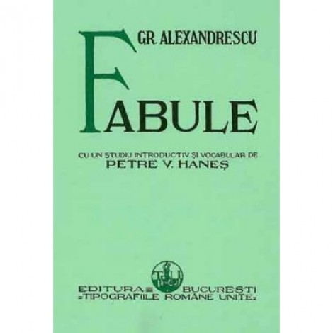 Fabule - Grigore Alexandrescu