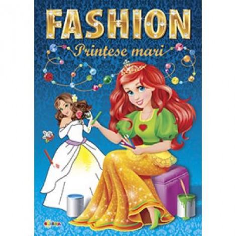 Marea carte de colorat. Fashion. Printese mari