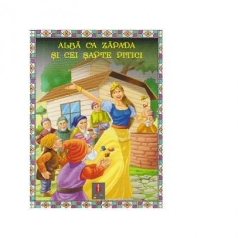 Povesti ilustrate - Alba ca zapada si cei sapte pitici