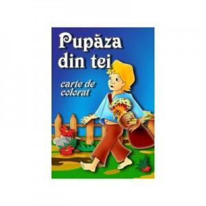 Pupaza din tei (carte de colorat)