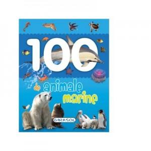 100 de animale marine - Primele mele carti cu poze