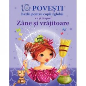10 Povesti hazlii pentru copii cu si despre Zane si Vrajitoare