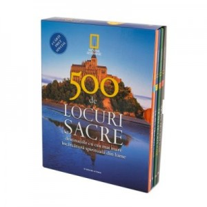 500 de locuri sacre (4 volume) - National Geographic