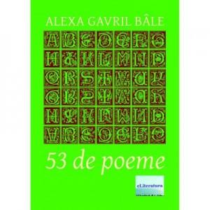 53 de Poeme - Alexa Gavril Bale