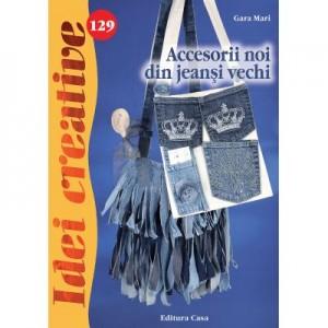 Accesorii noi din jeansi vechi. Idei creative 129 - Gara Mari