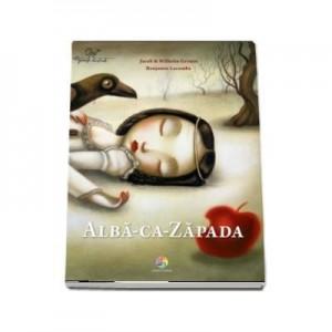 Alba-ca-Zapada - Fratii Grimm. Cu ilustratii de Benjamin Lacombe