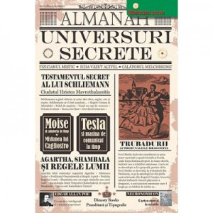 Almanah Universuri Secrete 2018. Editie ingrijita de Nicolae Constantinescu