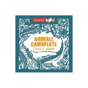 Animale camuflate - Cauta si gaseste - Sam Hutchinson, Sarah Dennis