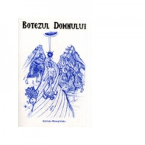 Botezul Domnului, tiparita in culoarea albastra - Euphemia Briere