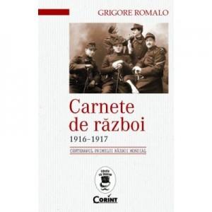 Carnete de razboi 1916-1917 - Grigore Romalo