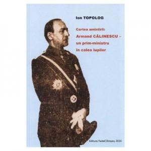 Cartea amintirii - Armand Calinescu, un prim-ministru in calea lupilor - Ion Topolog
