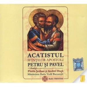 CD audio Acatistul Sfintilor Apostoli Petru si Pavel