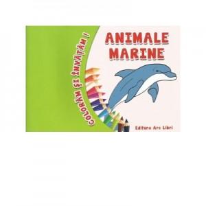 Coloram si invatam! - Animale marine - Adina Grigore