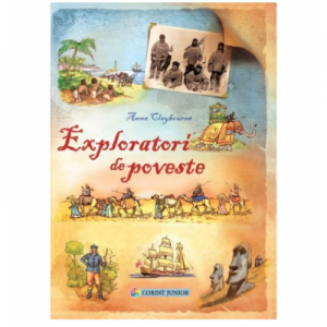Exploratori de poveste, Anna Claybourne