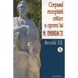 Corpusul receptarii critice a operei lui Mihai Eminescu, Vol 16-17, sec XX - I. Oprisan
