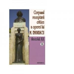 Corpusul receptarii critice a operei lui Mihai Eminescu. Secolul XX (volumele 22-23, perioada august-septembrie 1919) - I. Oprisan