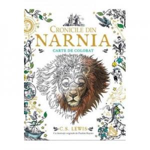 Cronicile din Narnia. Carte de colorat. Paperback - C. S. Lewis