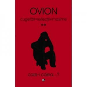 Cugetari, Reflectii, Maxime - volumul II - Ovidiu Ionita