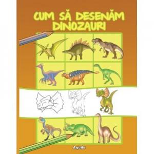 Cum sa desenam dinozauri - Ilustrator Dan Negrut