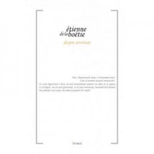 Despre servitute - Etienne de La Boetie