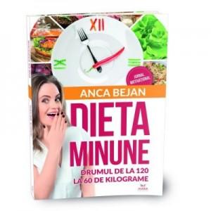 Dieta Minune. Drumul de la 120 la 60 de kilograme - Anca Bejan