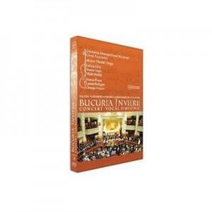 DVD Bucuria Invierii. Concert vocal-simfonic