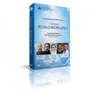 DVD Religia ca recurs la pace. Conferinta Parintele Necula