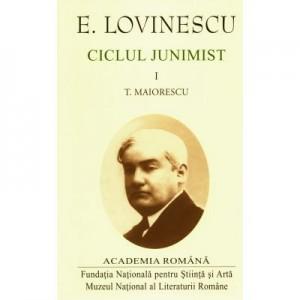 Eugen Lovinescu – Ciclul junimist