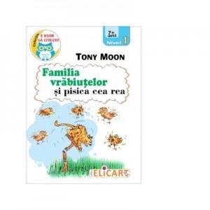 Familia vrabiutelor si pisica cea rea - Tony Moon