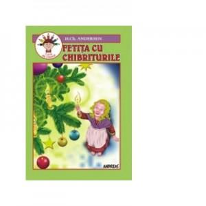 Fetita cu chibrituri - carte de colorat - Hans Christian Andersen