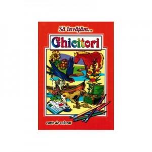 Ghicitori - format A4 (carte de colorat)