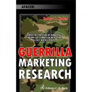 Guerilla Marketing Research - Robert J. Kaden