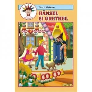 Hansel si Grethel. Carte de colorat - Fratii Grimm