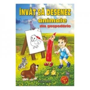 Invat sa desenez animale din gospodarie