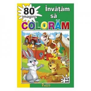 Invatam sa coloram 80 de imagini