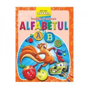 Invatam si coloram alfabetul