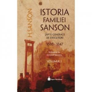 Istoria familiei Sanson vol. 1 - H. Sanson