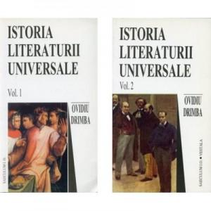 Istoria literaturii universale, volumele I-II - Ovidiu Drimba
