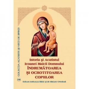 Istoria si Acatistul Icoanei Maicii Domnului Indrumatoarea si ocrotitoarea copiilor