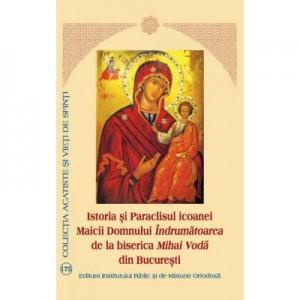 Istoria si Paraclisul icoanei Maicii Domnului Indrumatoarea de la biserica Mihai Voda din Bucuresti - Aprobarea Sfantului Sinod