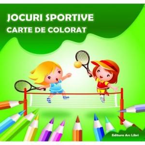 Carte de colorat. Jocuri Sportive - Adina Grigore
