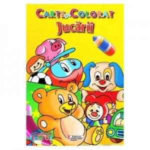 Jucarii. Carte de colorat
