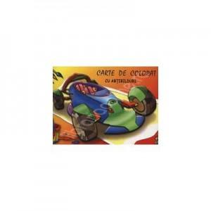 Masina - (Carte de colorat cu abtibilduri)