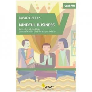 Mindful Business. Cum schimba meditatia lumea afacerilor din interior spre exterior - David Gelles