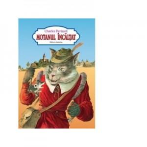 Motanul incaltat (carte color, format A4, capsata) - Charles Perrault