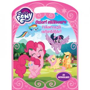 My Little Pony. Culori calatoare. Coloreaza activitatile!