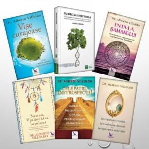 Despre Samanism si Medicina spirituala, autor Alberto Villoldo - Pachet 6 carti