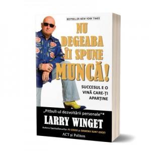 Nu degeaba ii spune munca! Succesul e o vina care-ti apartine - Larry Winget