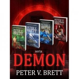 Pachet Seria Demon vol. 1-4 - Peter V. Brett