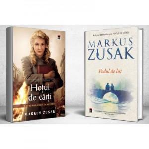 Pachet: Hotul de carti si Podul de lut - Markus Zusak